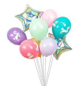 Unicorn Ballon Cluster