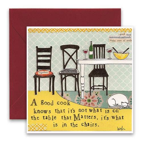 In the Chairs Square Card