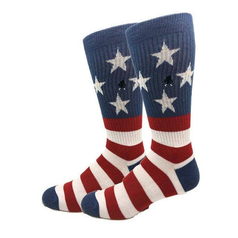 Active USA Flag Socks