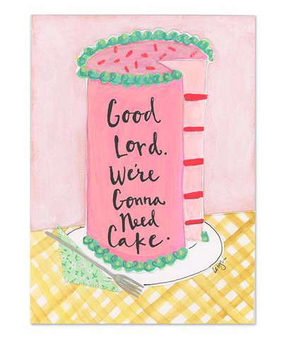 Good Lord Magnet by Curly Girl Designs