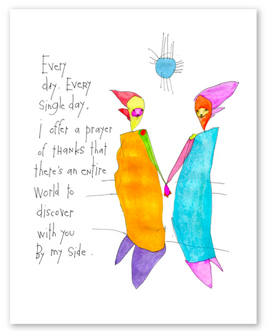 PRINT | a prayer of thanks