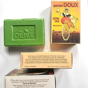 Nostalgia (olive oil) - Luxury French Soap - Savon de Marseille
