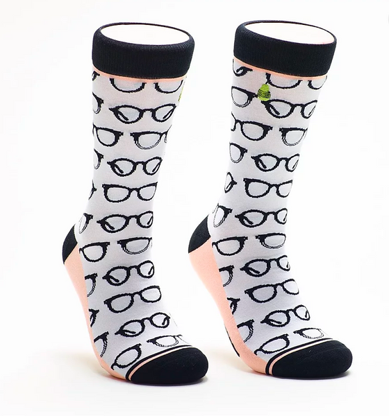 I See You: Woven Pear Socks
