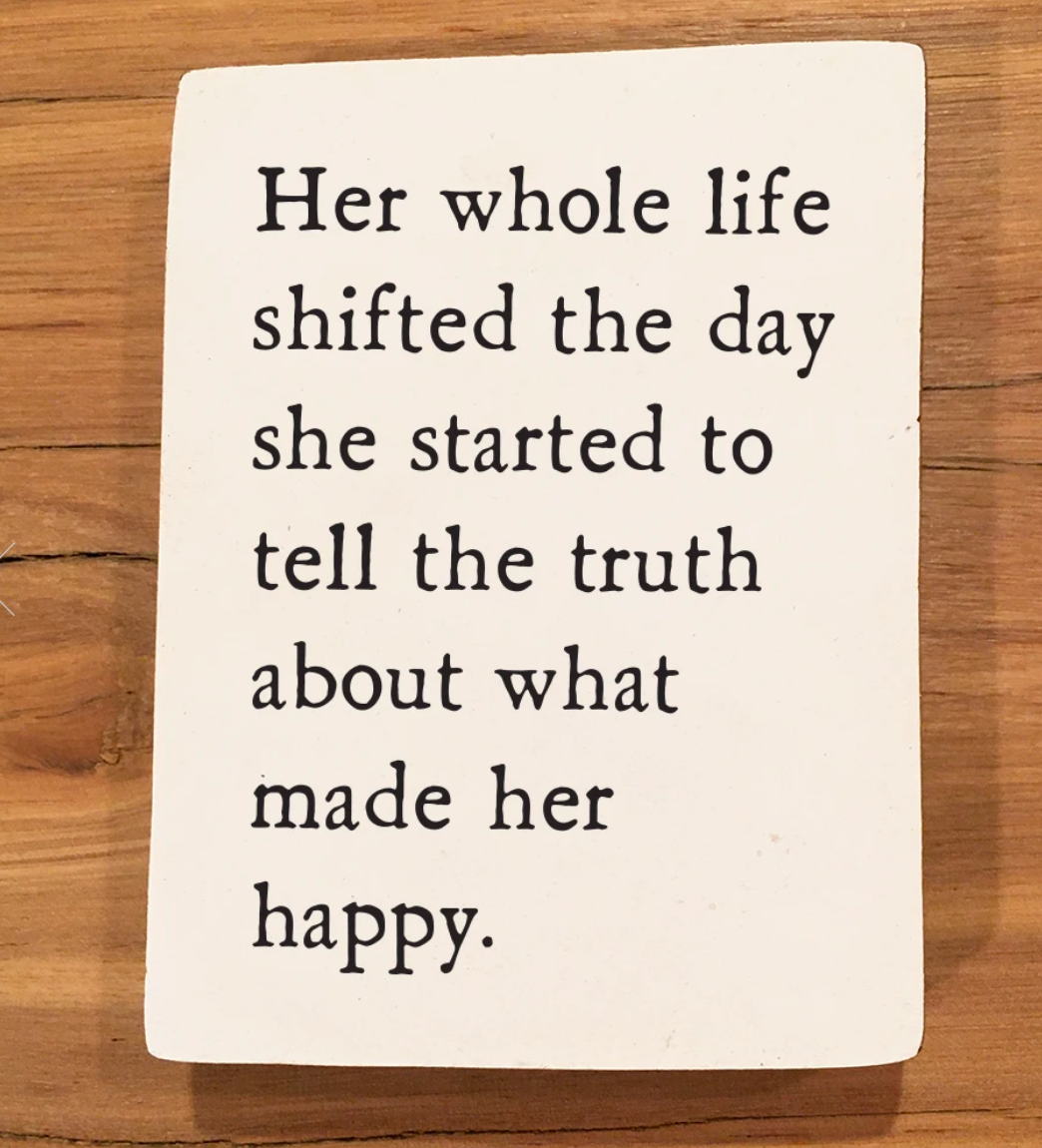 simple truth storyblock