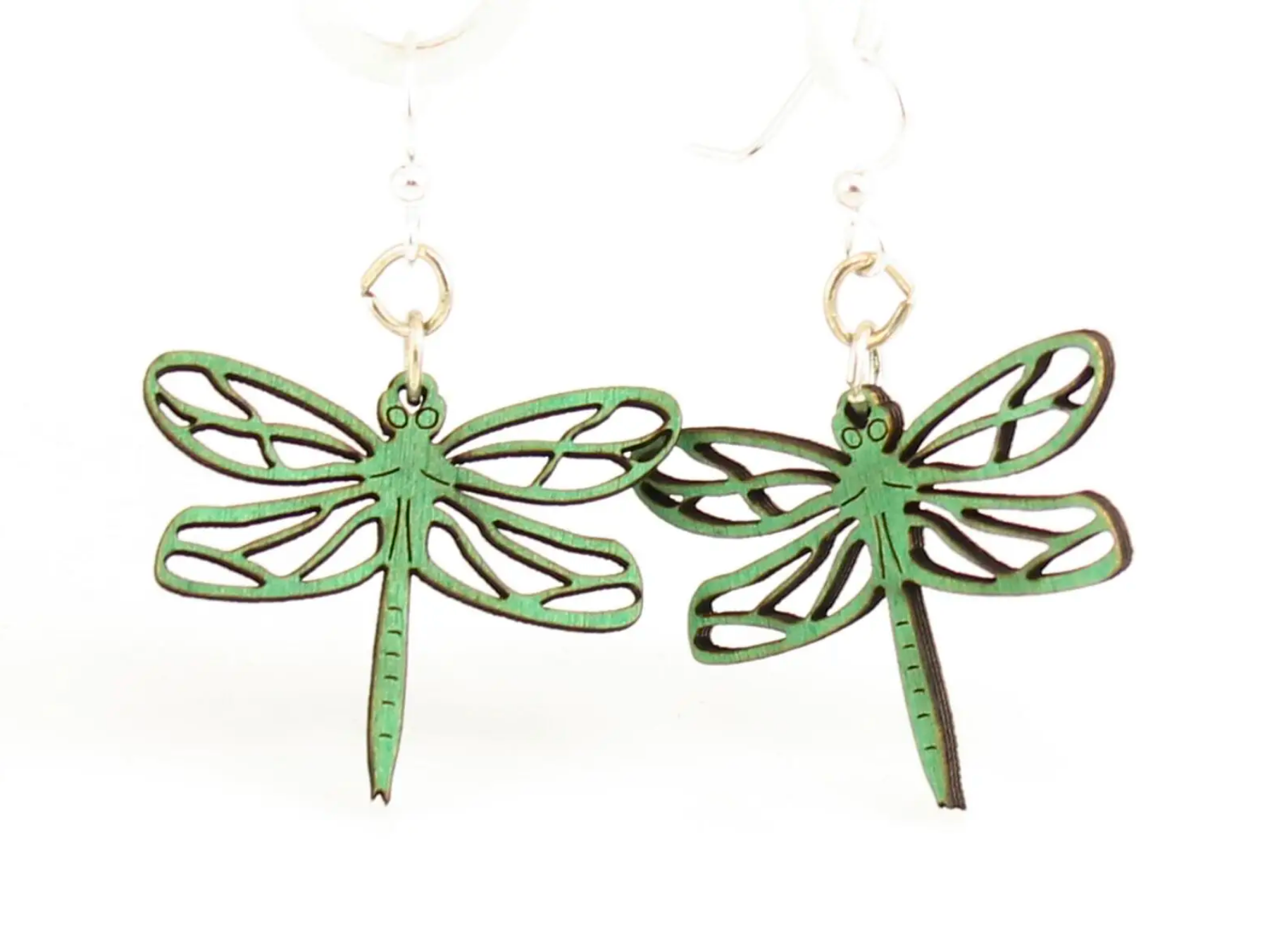 Dragonfly - Wood Earrings