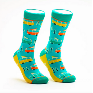 RV There Yet?: Woven Pear Socks