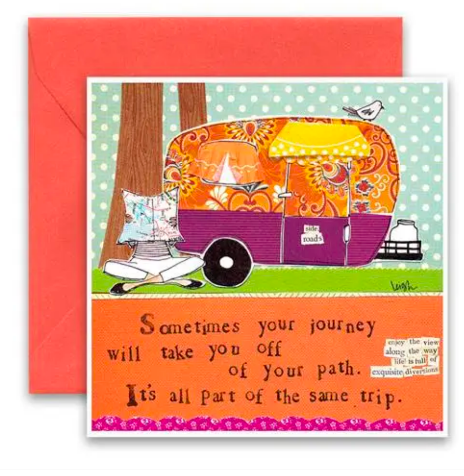 CURLY GIRL CARD | Off Your Path