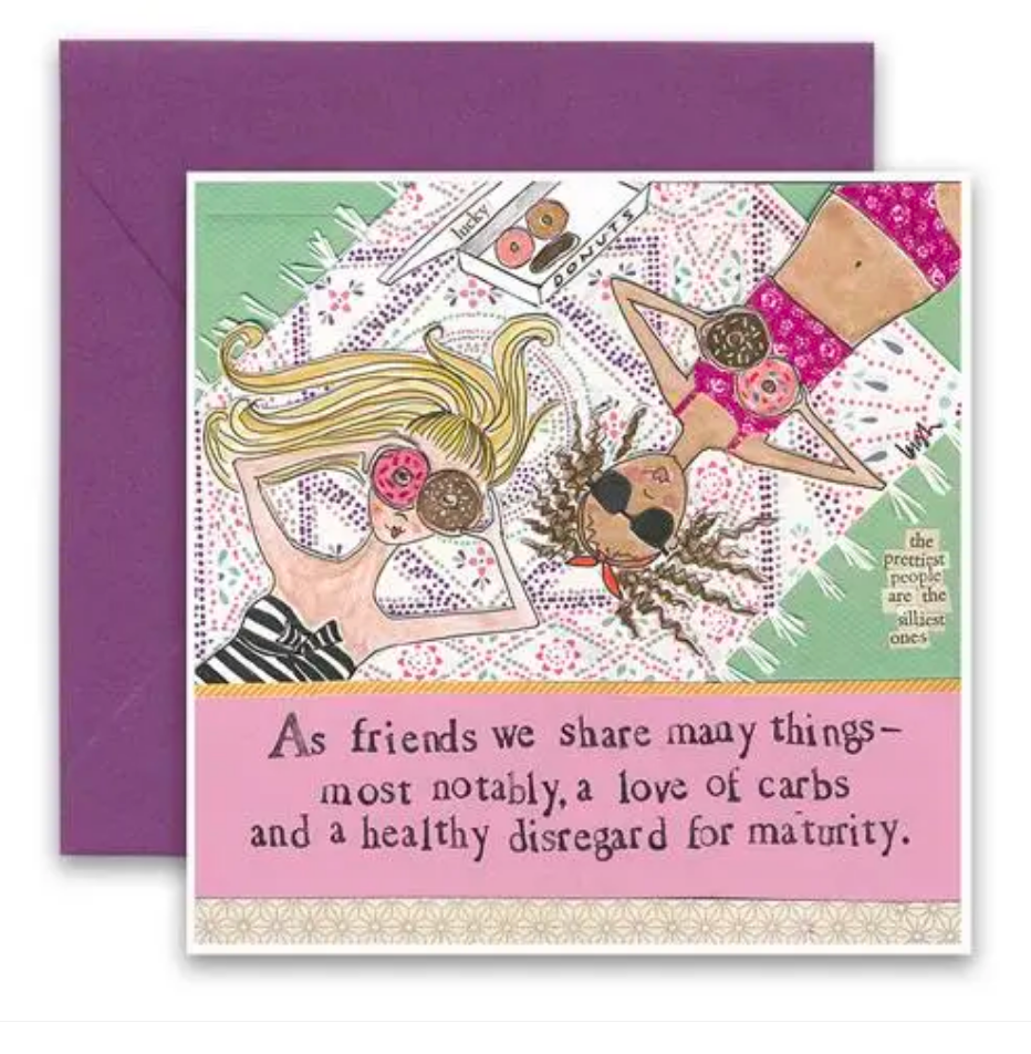 CURLY GIRL CARD | Love of Carbs