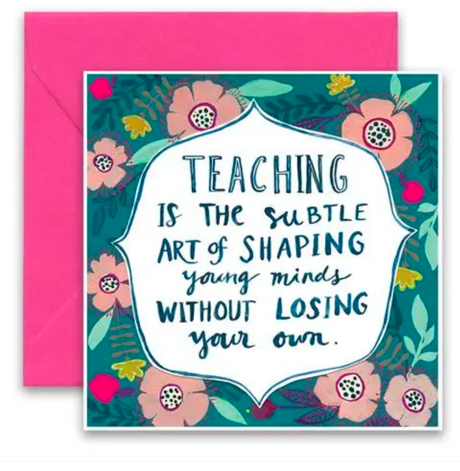CURLY GIRL CARD | Shaping Young Minds
