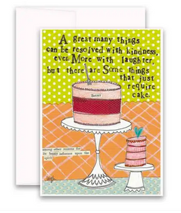 CURLY GIRL CARD | Cake Required