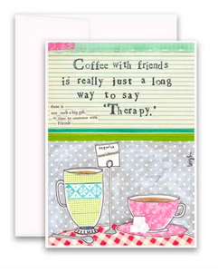 CURLY GIRL CARD | Coffee Therapy