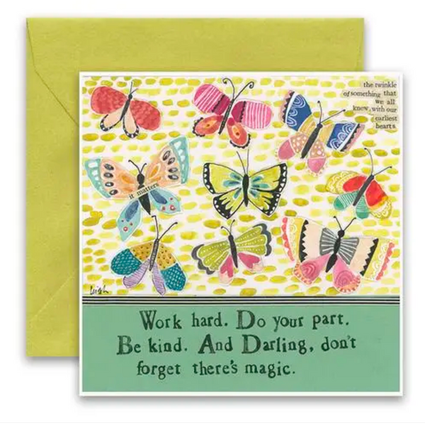 CURLY GIRL CARD | Don't Forget the Magic