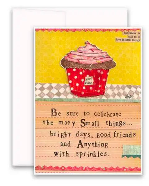 CURLY GIRL CARD | Anything With Sprinkles