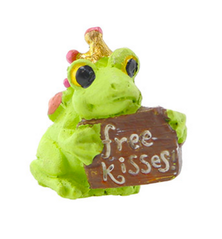 FAIRY GARDEN | Free Kisses Frog