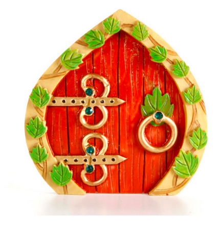 FAIRY GARDEN | Red Fairy Door