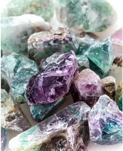ROUGH ROCK | fluorite