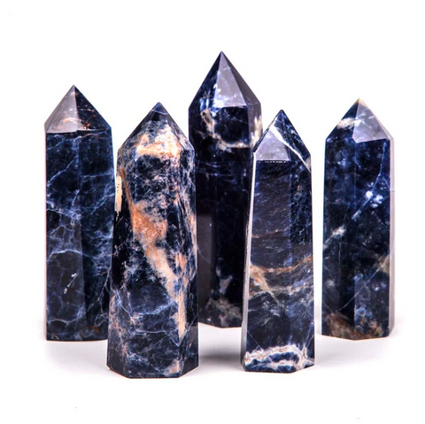 CRYSTAL POINT | sodalite