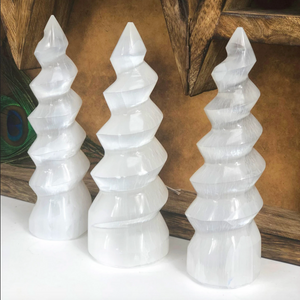 CRYSTAL | Selenite Unicorn Horn
