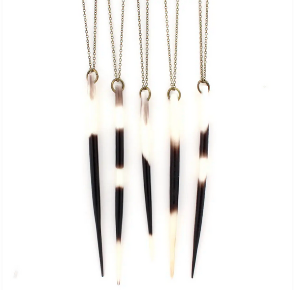 JEWELRY | porcupine quill necklace