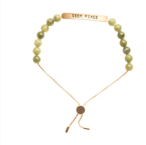 JEWELRY | seek peace bracelet