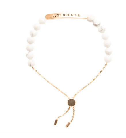 JEWELRY | just breathe bracelet