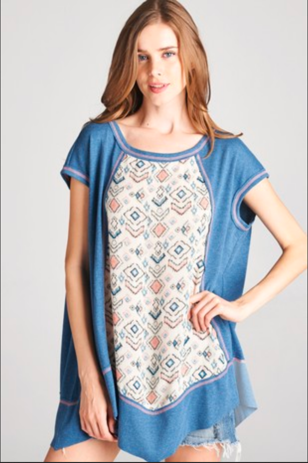 APPAREL | tribal tunic top