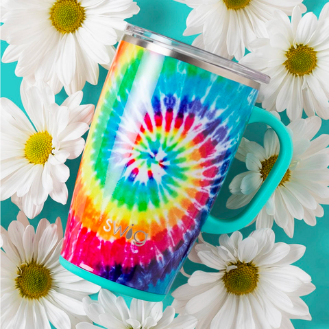 SWIG | swirled peace travel mug