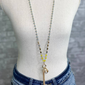 Octavia Two-Way Neckalce - Mustard