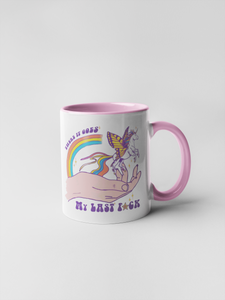 There it Goes My Last F*ck - Unicorn Coffee Mug
