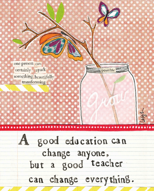 Good Teacher by Curly Girl Designs