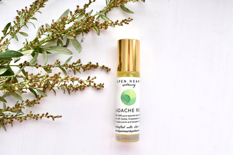 HEADACHE RELIEF: essential oil roller
