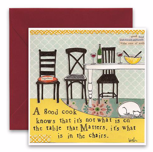 CURLY GIRL CARD | In The Chairs
