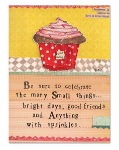 Sprinkles Magnet by Curly Girl Designs