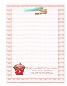 Sprinkles Notepad by Curly Girl Designs