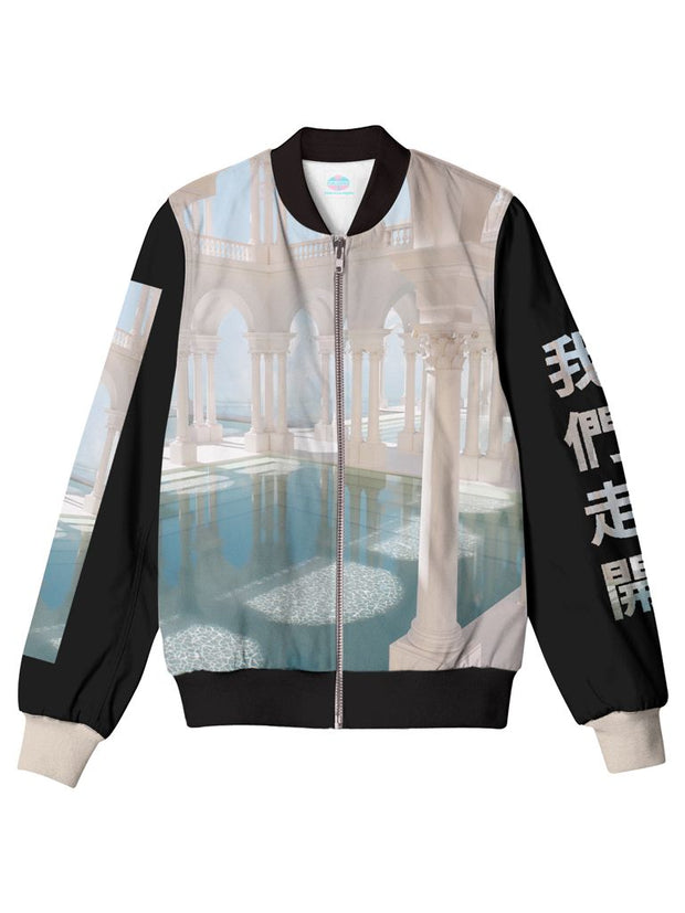escape bomber jacket