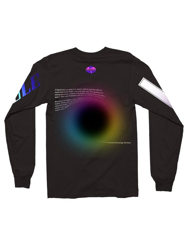 black hole long sleeve t