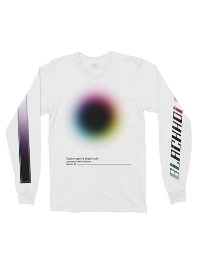 black hole cotton long sleeve t