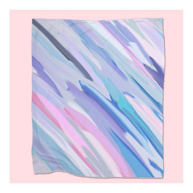 lost marble fleece blanket