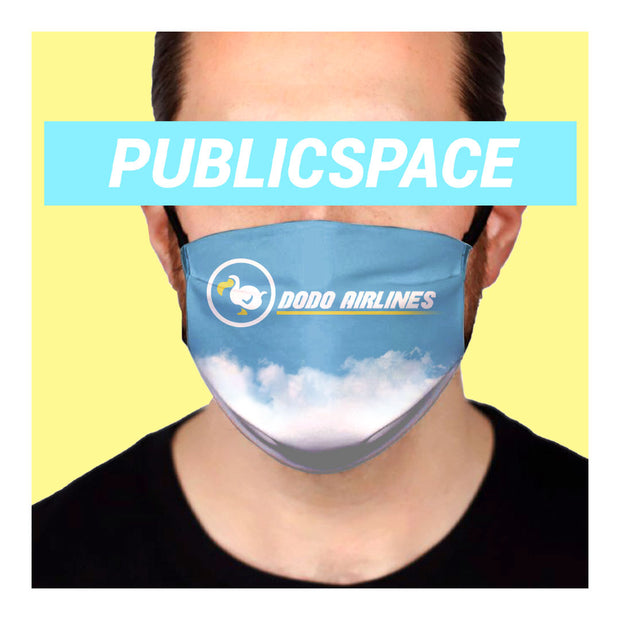 d0d0 airlines cloth face mask (non medical)