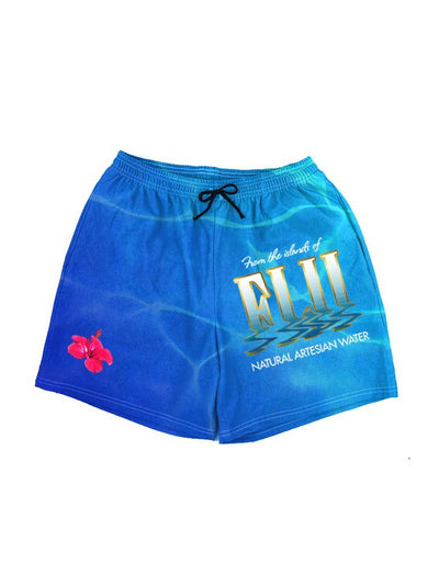fiji swim shorts - Public Space xyz - vaporwave aesthetic clothing fashion, kawaii, pastel, pastelgrunge, pastelwave, palewave