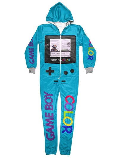 gameboy color onesie