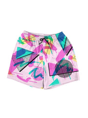 graffiti memphis swim shorts