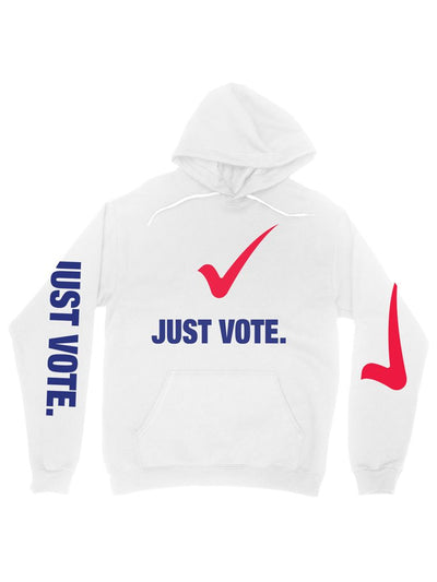 just vote (cotton) hoodie