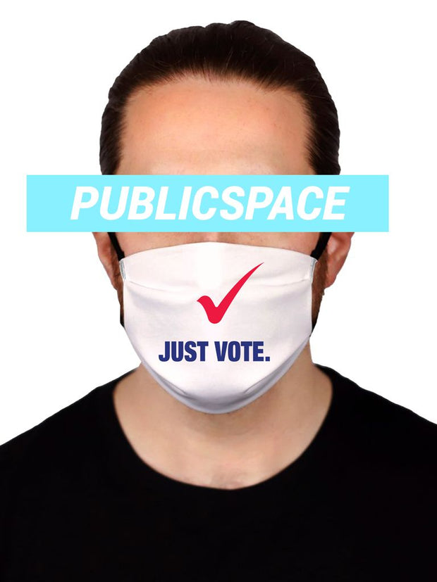 just vote cloth face mask (non medical)