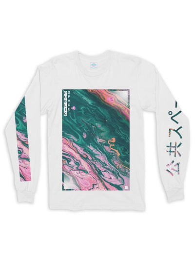 liquid cotton long sleeve t