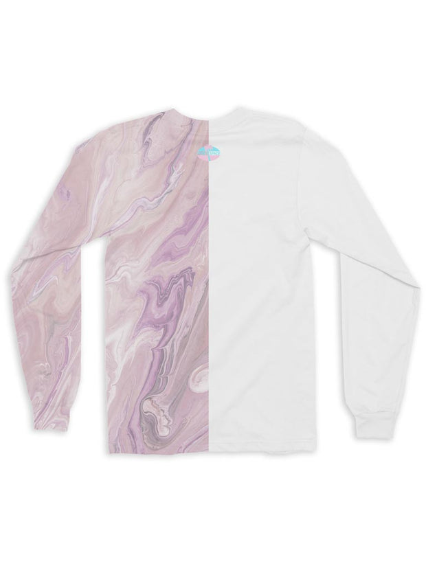 marble long sleeve t