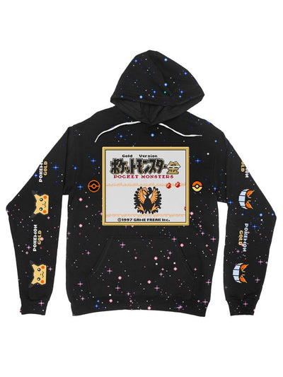 gold version galaxy hoodie