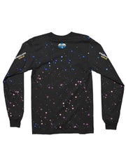 gold version galaxy long sleeve t