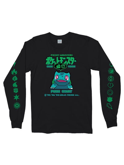 bulba green long sleeve t