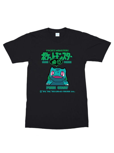 bulba green (cotton) t-shirt